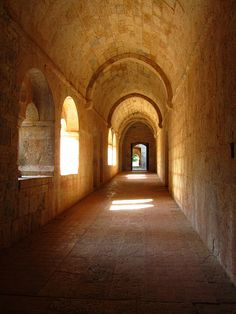 L'Abbaye du Thoronet is sited in the Var Department of Provence, France.