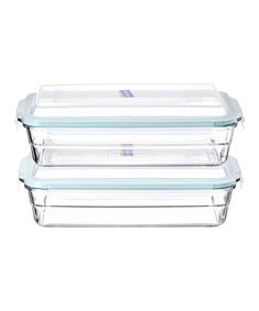 Love this 11'' x 7'' Bakeware - Set of Two by Glasslock on #zulily! #zulilyfinds