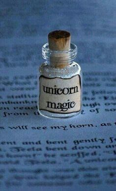 *A little bit of unicorn magic* This is so cute and very easy to make yourself. Naturally I already have one of these in my collection! - LL