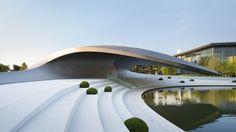 HENN - Porsche Pavilion, Wolfsburg, Germany