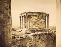 ARTHOUSE-TURISM: ΑΘΗΝΑ ΤΟΥ 1839 - 1900 Greek History, Parthenon, Athens Greece, Ancient Greece, Old Photos, Home Art, Egypt, Architecture, Painting