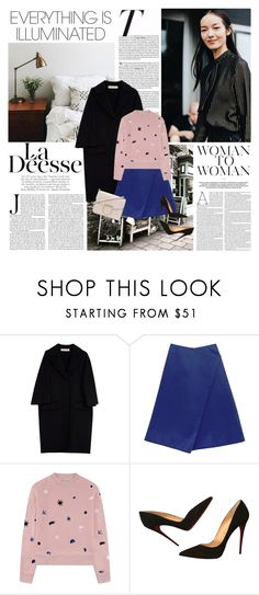 """""""Everything is illuminated"""" by sissydoll ❤ liked on Polyvore featuring Vanity Fair, Marni, Finery London, Être Cécile, Christian Louboutin, Givenchy and Nicole"""