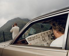 View finders … Snowdonia, from Martin Parr's show at the National Museum Cardiff. Martin Parr, Steve Mccurry, Henri Cartier Bresson, Tom Selleck, Magnum Photos, Color Photography, Street Photography, Photography Projects, Inspiring Photography