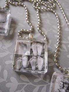 Ginger Snap Crafts: tutorial {photo pendants} Just too adorable, must have this Resin Crafts, Jewelry Crafts, Handmade Jewelry, Jewelry Ideas, Handmade Accessories, Handmade Crafts, Custom Jewelry, Photo Craft, Diy Photo