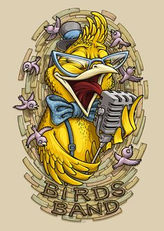 Birds Band on Behance