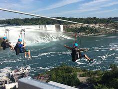 Zip line over Niagra Falls -let's gooo