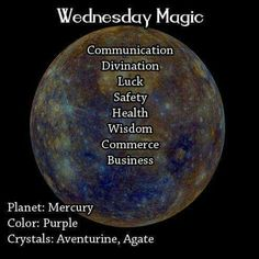 Magick Spell:  Wednesday #Magic. - Pinned by The Mystic's Emporium on Etsy