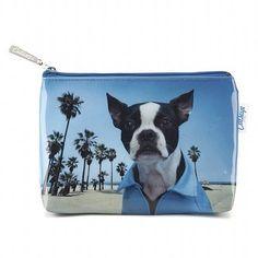 Beach Dog Make-Up Bag from fleurgifts.com