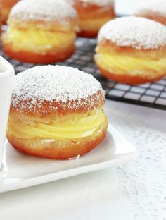 Orange cake and candied fruit - HQ Recipes Vanilla Recipes, Donut Recipes, Sweet Recipes, Baking Recipes, Dessert Recipes, Donuts, Orange Recipes, Baked Goods, Delicious Desserts