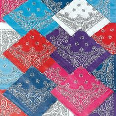 for the volunteers to wear  Western Bandanna Assortment - OrientalTrading.com