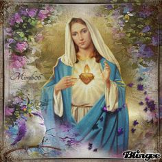 Immaculate Heart of Mary animation gif