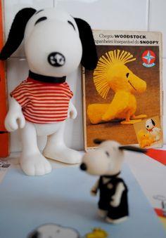 Coleção Snoopy 1980s - Boneco Snoopy, Gibis e Papéis de carta...