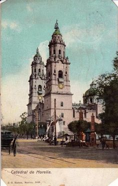 Catedral de Morelia.