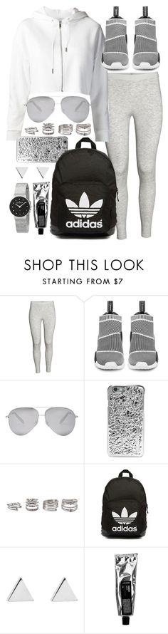 """""""Untitled #19766"""" by florencia95 ❤ liked on Polyvore featuring adidas, Victoria Beckham, Marc by Marc Jacobs, Forever 21, adidas Originals, Jennifer Meyer Jewelry and Skagen"""
