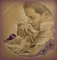 Daddy!Charming by KatBjorky on deviantART ~ Prince Charming & Baby Emma of Once Upon a Time tv series