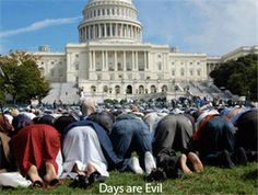 CHRISTIANS were ARRESTED for praying near the capital. FIVE THOUSAND MUSLIMS were ALLOWED to pray on the WHITE HOUSE LAWN. WHAT???????????????