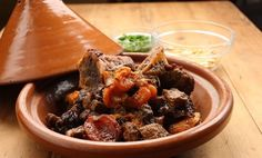 Beef Tagine with Spiced Pear
