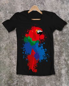 PARROT  tshirts... & more (727073.spreadshirt.net) Cool Things To Buy, Stuff To Buy, Popular Pins, Parrot, Womens Fashion, Mens Tops, T Shirt, Clothes, Style