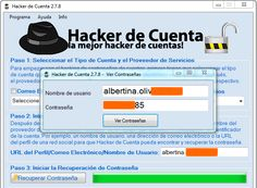 Descargar gratis programa para Hackear Hotmail, Gmail, Facebook...