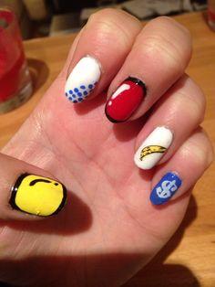 Pop art nails!!