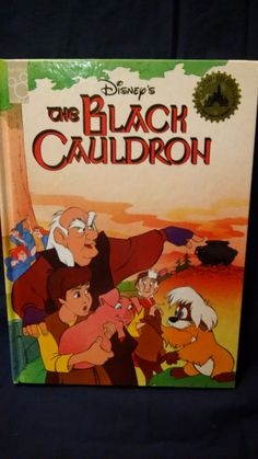 Disney's The Black Cauldron - Mouse Works -1990 by HECTORSVINTAGEVAULT on Etsy