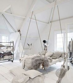 A swinging bed...maybe...someday