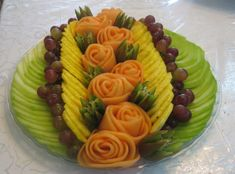 Beautiful Fruit Platters | Designing Beautiful Fruit Centerpieces and Trays