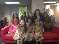 Sadie Sink Annie | ... to the big time in NYC! The Orphans of Annie backstage at the Palace