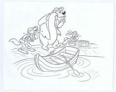 Bosch, Wilma van den - Originele tekening voor Donald Duck weekblad - Broer Konijn - W.B.