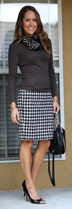 Houndstooth pencil skirt http://www.thelimited.com/product/houndstooth-pencil-skirt/7103976.html?ppid=c28&start=28&cgid=sale-skirts&dwvar_7103976_colorCode=175&cid=AFC-LINK-J84DHJLQkR4&utm_medium=affiliate&utm_campaign=J84DHJLQkR4