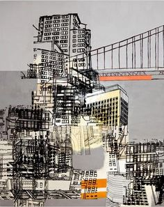 8 Towering Structures Transition by Cristina Guerreiro  http://www.ugallery.com/mi...