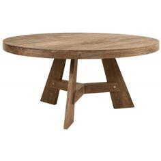 LE 780513: Eettafel rond, 78x160x160 cm