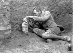 Wooley's Ur excavation.