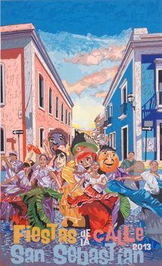 Fiesta de la Calle San Sebastian 2013