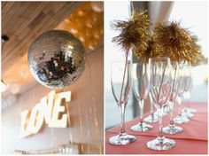 disco ball, gold, tinsel stirrers, wedding collective, southern wedding group, Dallas Wedding Planner | Curator of Custom Events — Dallas-Fort Worth Wedding Planning Studio