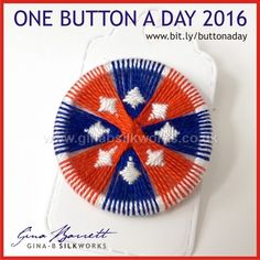Day 261: Seafaring #onebuttonaday by Gina Barrett