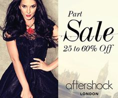 #AftershockLondon Coupon -   Save 15% OFF Coupon Voucher on #luxurydesigner #womenswear clothing and accessories!   http://www.ukcouponsvouchers.com/coupons/aftershock-london-save-15-off-coupon-voucher/