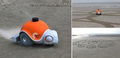 World's First Autonomous Sand Art Robot - iCreatived