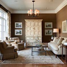 traditional living room by Carolina Design Associates, LLC