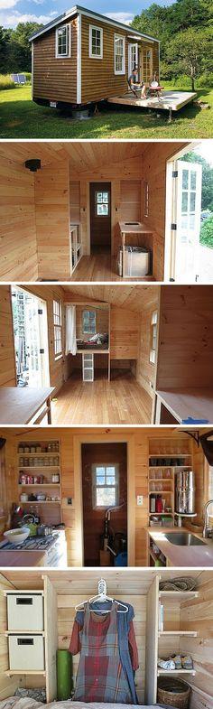 Tiny Home Designs: 8x24 Portable Tiny House On