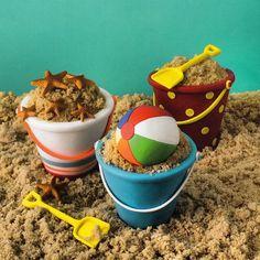 Beach mini cakes by elisa strauss