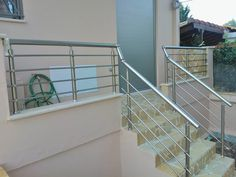 Europa railing system - anodized.  From Europa Club fabricator http://www.grivakis-aluminium.gr/