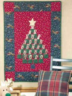 Special Occasion Quilting - Christmas Quilt Patterns - Quilted Advent Calendar