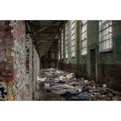 Opacity - Abandoned Photography and Urban Exploration ❤ liked on Polyvore featuring backgrounds and pictures