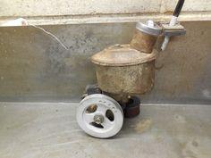 64 65 Ford Eaton Power Steering Pump w/ Reservoir & Pulley Very Nice Core | eBay