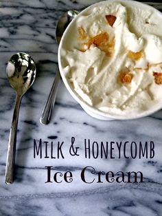 Milk & Honeycomb Ice Cream   The Big Fat Jewish Wedding