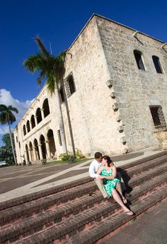 Our engagement photos in Santo Domingo - photo by @Ivy Koh