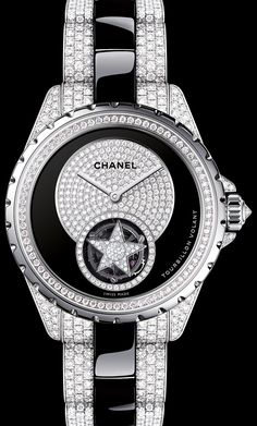 Chanel J12 High Jewelry Flying Tourbillon