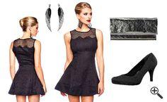 Schöne Cocktailkleider für 2016: http://www.kleider-deal.de/schoene-cocktailkleider-2016-outfit-ideen/ #Cocktailkleider #OutfitIdeen #Outfit #Dress #Kleider #Black #Fashion #Mode Outfit Ideen Schöne Cocktailkleider 2016