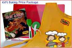 Mommy's Kitchen - Country Cooking & Family Friendly Recipes: Rhodes Curly Dogs & Kid's Baking Prize Pack Giveaway!